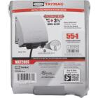 TayMac 2-Gang Vertical Mount Metallic In-Use Low Profile Outdoor Outlet Cover Image 2