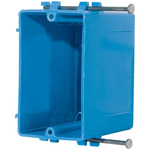 Carlon 1-Gang PVC Molded Wall Switch Box