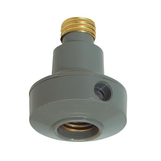 Do it Screw-In Gray Indoor/Outdoor Automatic Photocell Lamp Control