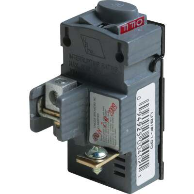 Connecticut Electric 30A Single-Pole Standard Trip Packaged Replacement Circuit Breaker For Pushmatic