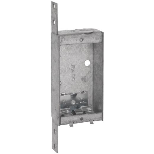 Raco 1-Gang Steel Welded Pryout Wall Box
