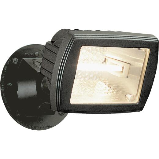 Designers Edge Bronze Mini Halogen Floodlight Fixture