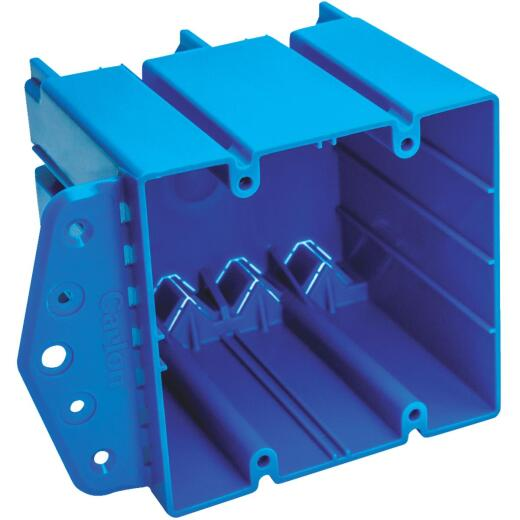Carlon Screw-On 4 In. x 4 In. PVC Square Box