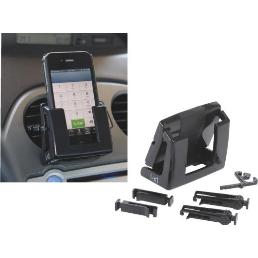 Custom Accessories Vent Mount Black Cell Phone Holder