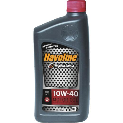 Havoline 10W40 Quart Motor Oil