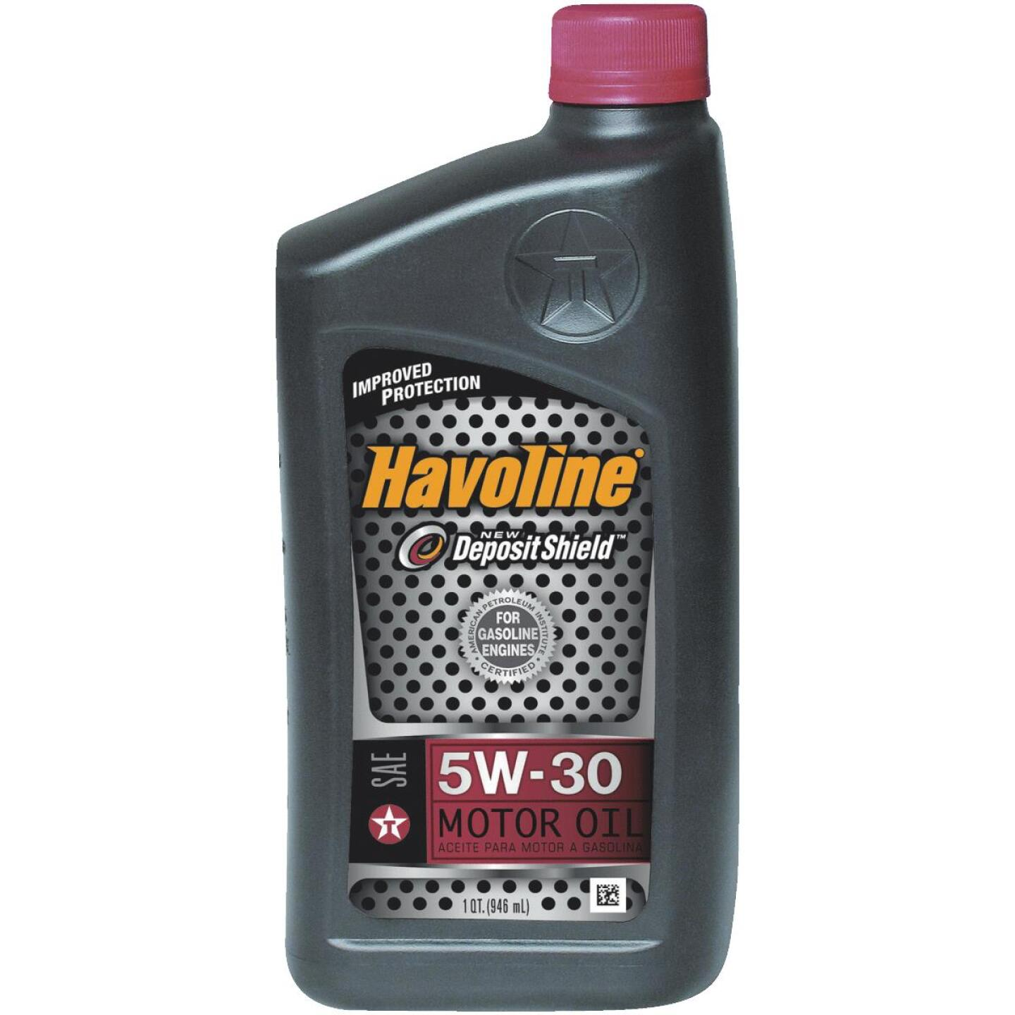 Havoline 5W30 Quart Motor Oil Image 1