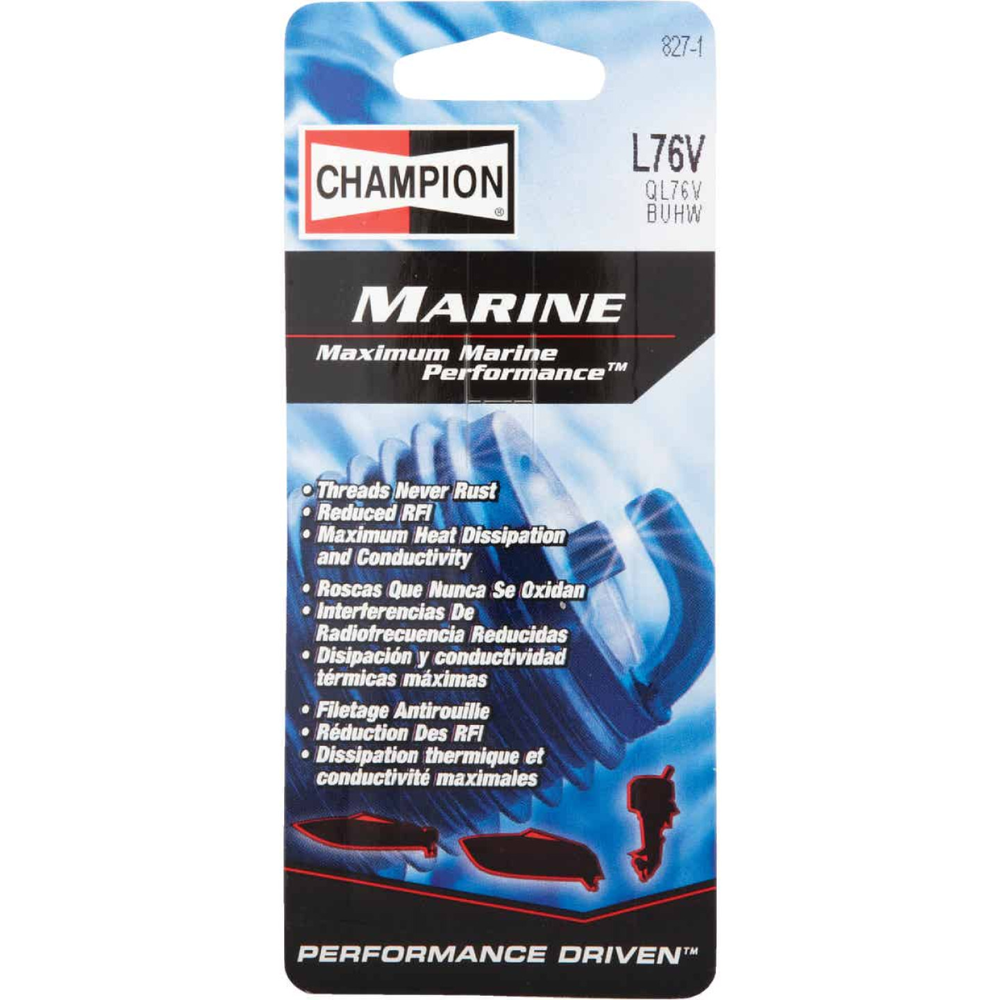 Champion L76V Copper Plus Marine Spark Plug Image 2