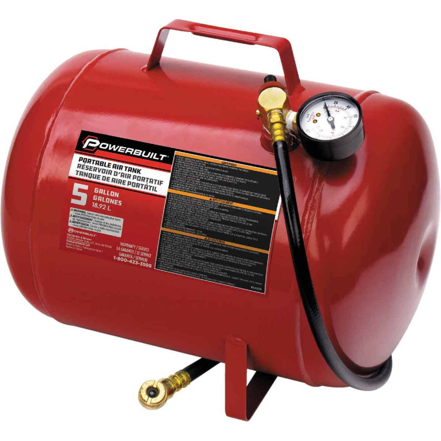 Pro-Lift Air Tank, 5 Gallon Image 1
