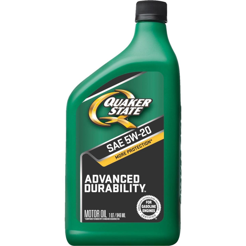 Quaker State Advanced Durability 5W20 Quart Motor Oil Image 1