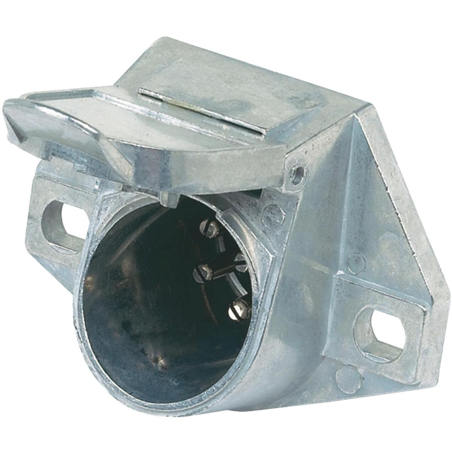 Hopkins 7-Round Vehicle Side Connector Image 1