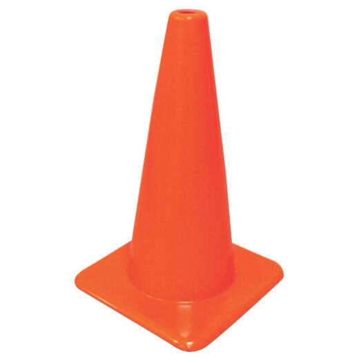 Hyko 18 In. H Orange Safety Cone