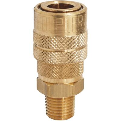 Milton Kwik Change M-Style 1/4 In. Male NPT Coupler