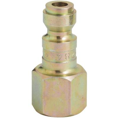 Milton 1/4 In. FNPT Steel-Plated T-Style Plug