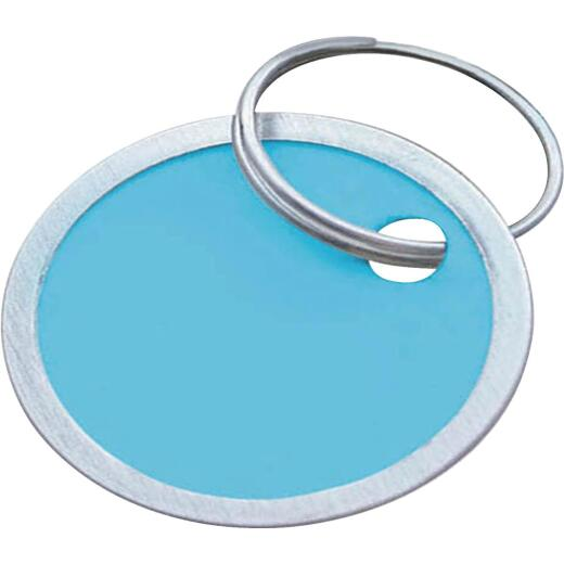 Lucky Line 1-1/4 In. Metal-Rimmed Paper Key Tag, (25-Pack)