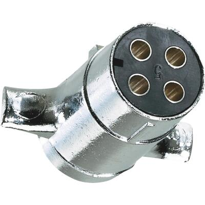 Hopkins 4-Round Trailer Side Connector