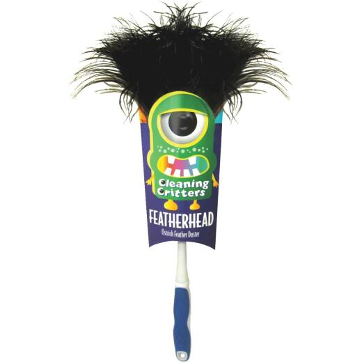 rEttore Ostrich Feather Duster with Ergonomic Handle