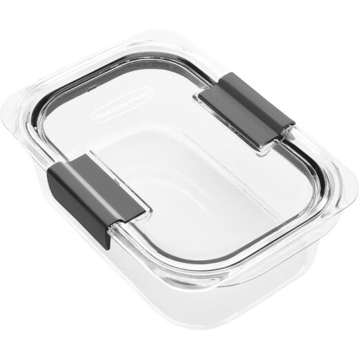 Rubbermaid Brilliance 3.2 C. Clear Rectangle Food Storage Container