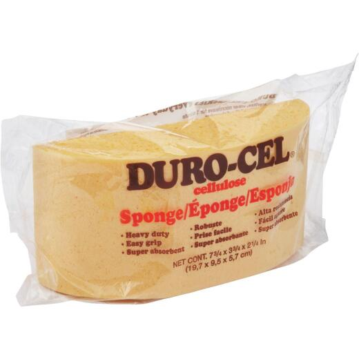 Duro-Cel Turtle Back 7.75 In. x 3.75 In. Yellow Cellulose Sponge