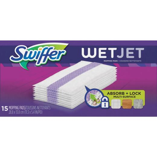 Swiffer WetJet Wet Cloth Mop Refill (15-Count)