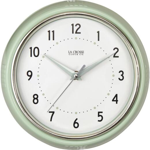 La Crosse Clock Diner Analog Wall Clock