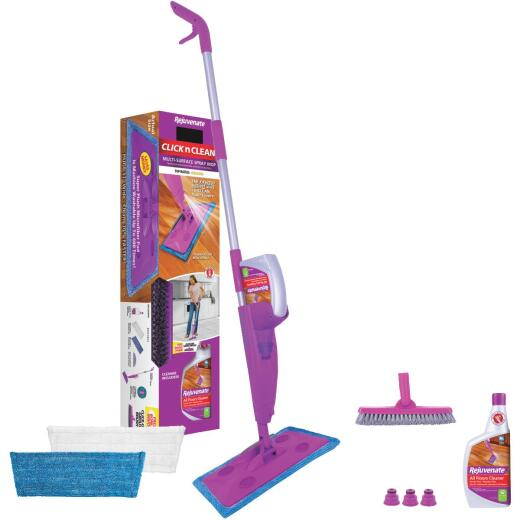 Rejuvenate Click n Clean Microfiber Multi-Surface Spray Mop