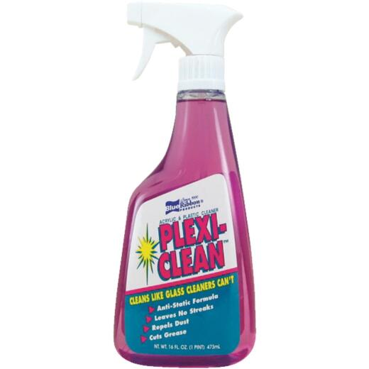 Blue Ribbon Products Plexi-Clean 16 Oz. Acrylic & Plastic Cleaner