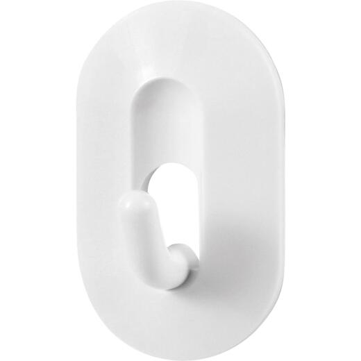 Spectrum Diversified White Magnetic Hook (2-Pack)