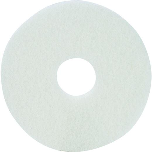 Lundmark 17 In. White 175 to 300 RPM Buffing Pad