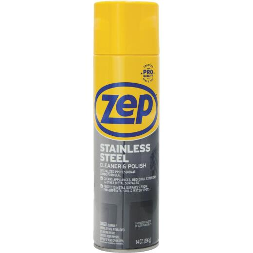 Zep 14 Oz. Stainless Steel Cleaner & Polish