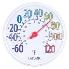 "Taylor 13-1/2"" Farenheit And Celsius -60 To 120 F, -50 To 50 C Outdoor Wall Thermometer Image 1"