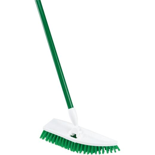 Libman No Knees Floor Scrub Brush with Handle