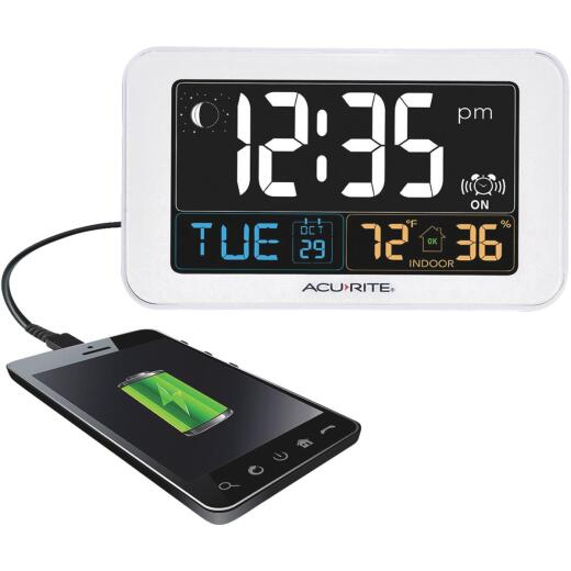 Acurite Intelli-Time Indoor Temperature/Humidity Alarm Clock