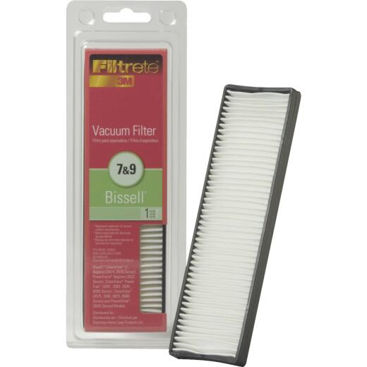 3M Filtrete Bissell 7 & 9 Allergen CleanView II, PowerForce, Powerglide Vacuum Filter
