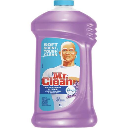 Mr. Clean 40 Oz. Lavender & Vanilla All-Purpose Cleaner with Febreze