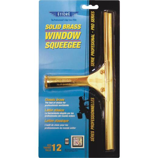Ettore ProSeries 12 In. Rubber Squeegee