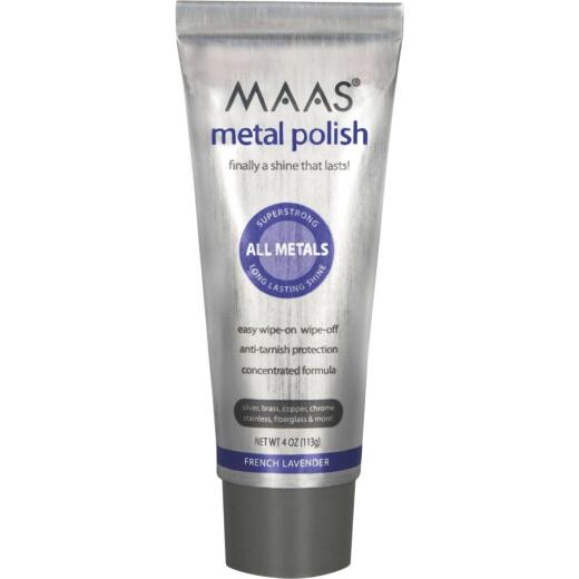 Maas 4 Oz. Metal Polishing Creme