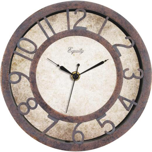 La Crosse Technology Equity Antique Finish Plastic Wall Clock