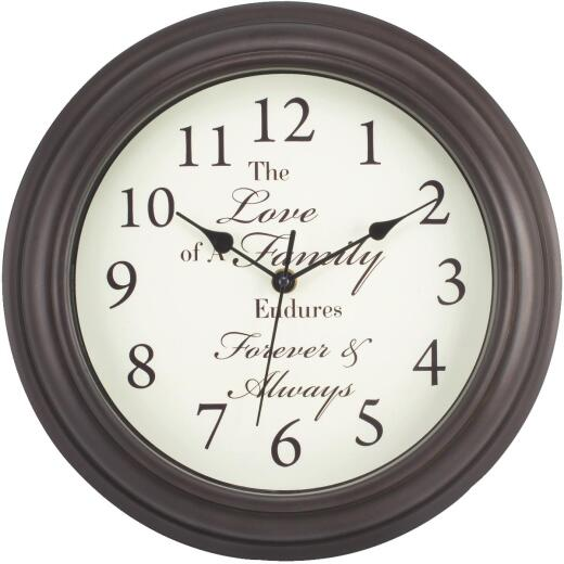 La Crosse Technology Inspirational Wall Clock