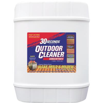 30 seconds Outdoor Cleaner 5 Gal. Concentrate Algae, Mold & Mildew Stain Remover