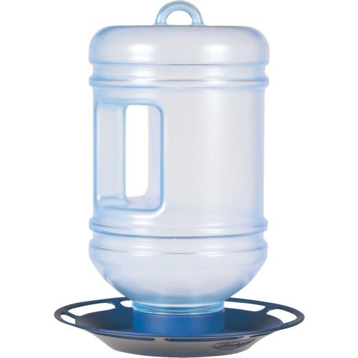 Perky-Pet 1.5 Qt. Blue Water Cooler Bird Waterer