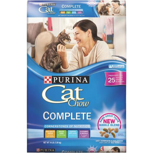 Purina Cat Chow Complete Balance 16 Lb. All Ages Cat Food