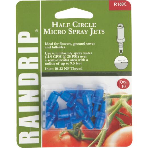 Raindrip Half Circle Micro Jet Sprayer (10-Pack)