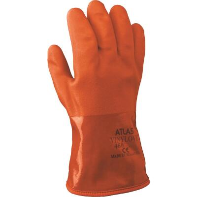 Atlas Men's XL Double-Dipped PVC Winter Work Glove