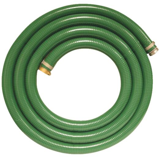 Apache 1-1/2 In. x 20 Ft. PVC Suction Hose
