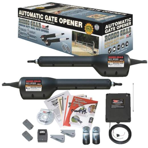 Mighty Mule MM372W 16 Ft. 550 Lb. Smart Dual Gate Opener Kit