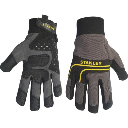 Stanley Men's Medium Synthetic Leather Work Glove