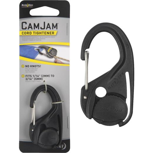 Nite Ize CamJam Plastic with Stainless Steel Gate Rope Tightener