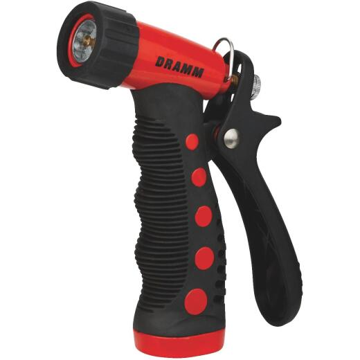 Dramm Heavy-Duty Metal Pistol Nozzle, Red