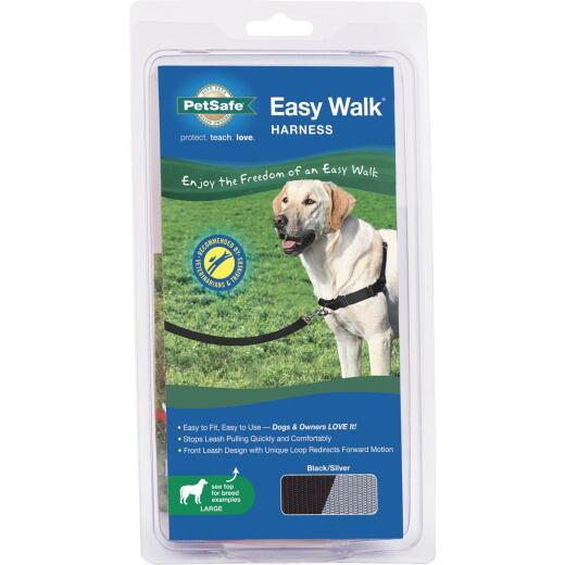 Petsafe Easy Walk 27 In. to 40 In. Black Harness