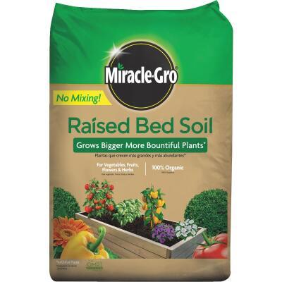 Miracle-Gro 1.5 Cu. Ft. Raised Bed Garden Soil